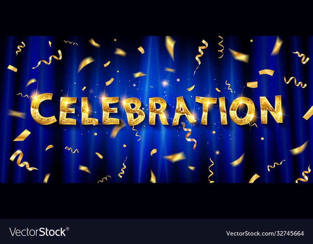 Celebration invitation card