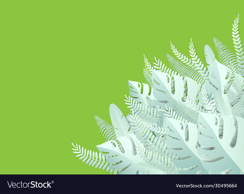 Tropical Leaves Paper Cut Style Royalty Free Vector Image Download 4,225 tropical leaves free vectors. tropical leaves paper cut style royalty free vector image