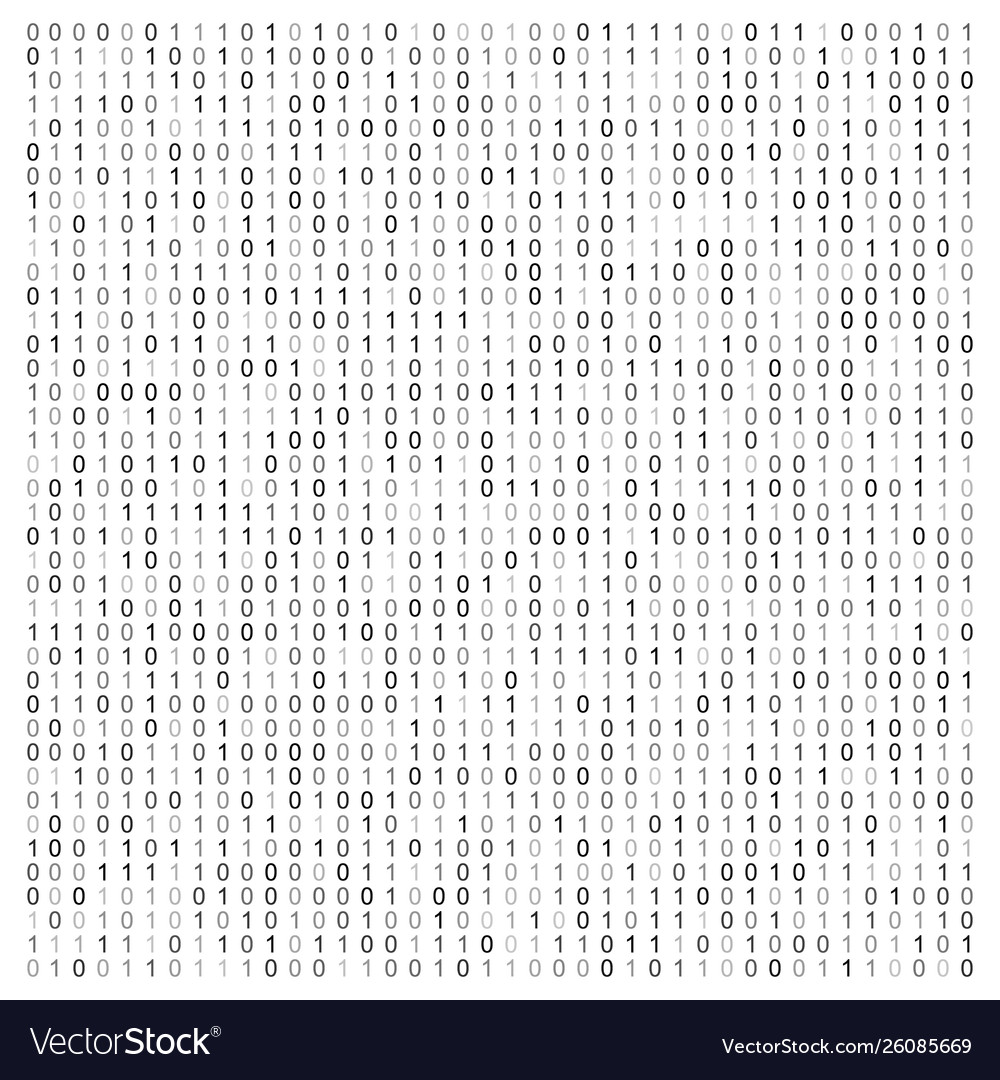 Abstract with binary code