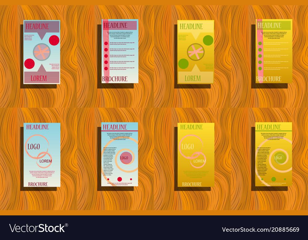 Business brochure flyer design leaflets a4