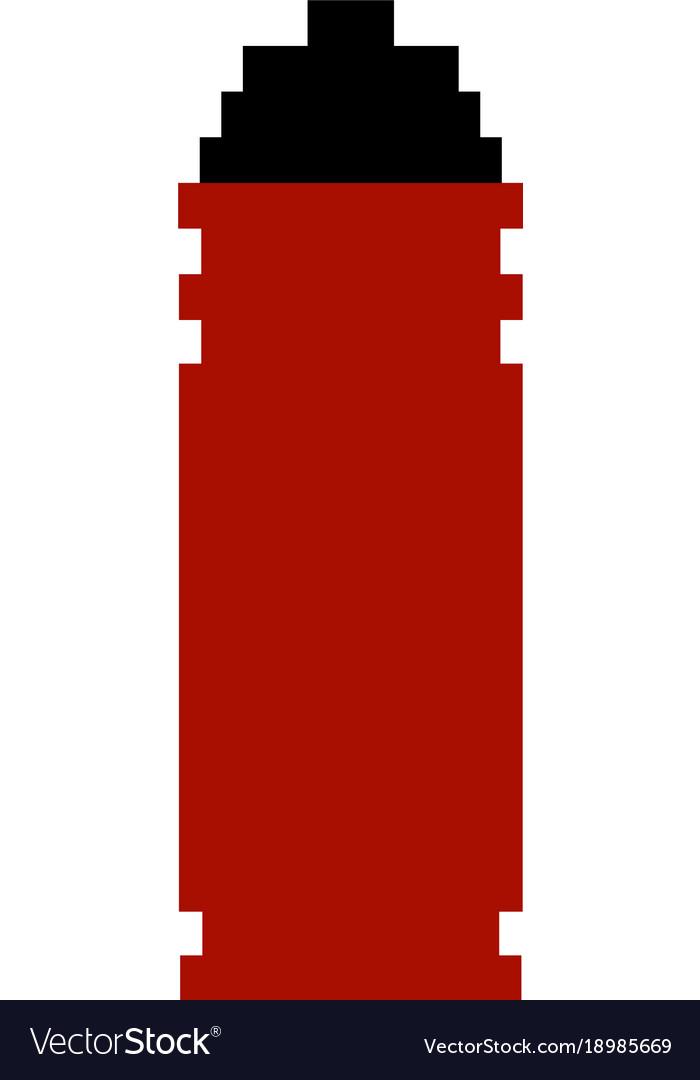 Object pixel effect