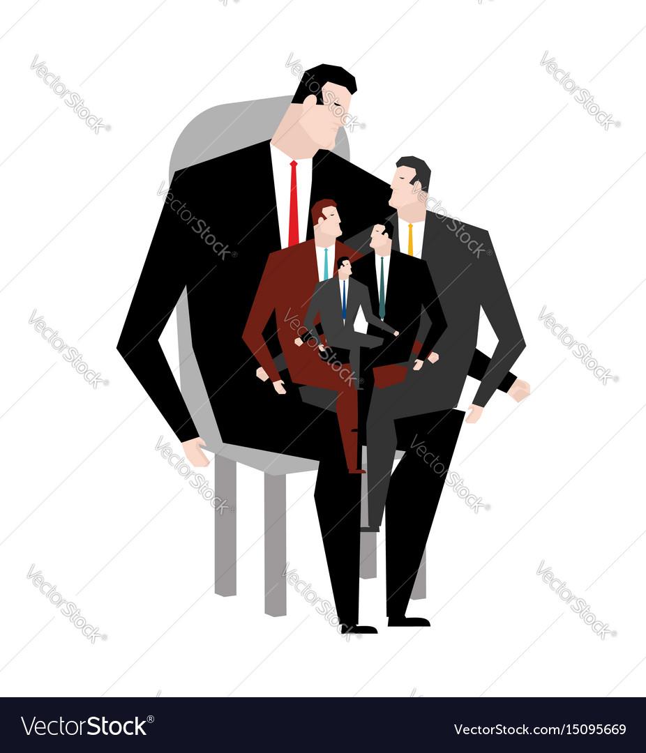 Office relatives corporate kinsfolk business