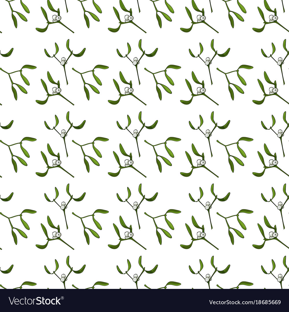 Seamless pattern for christmas on a white