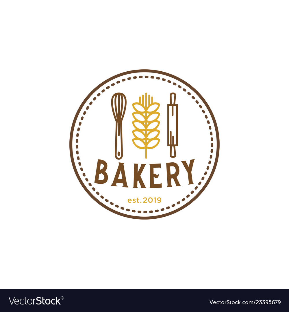 Bakery vintage logo inspiration