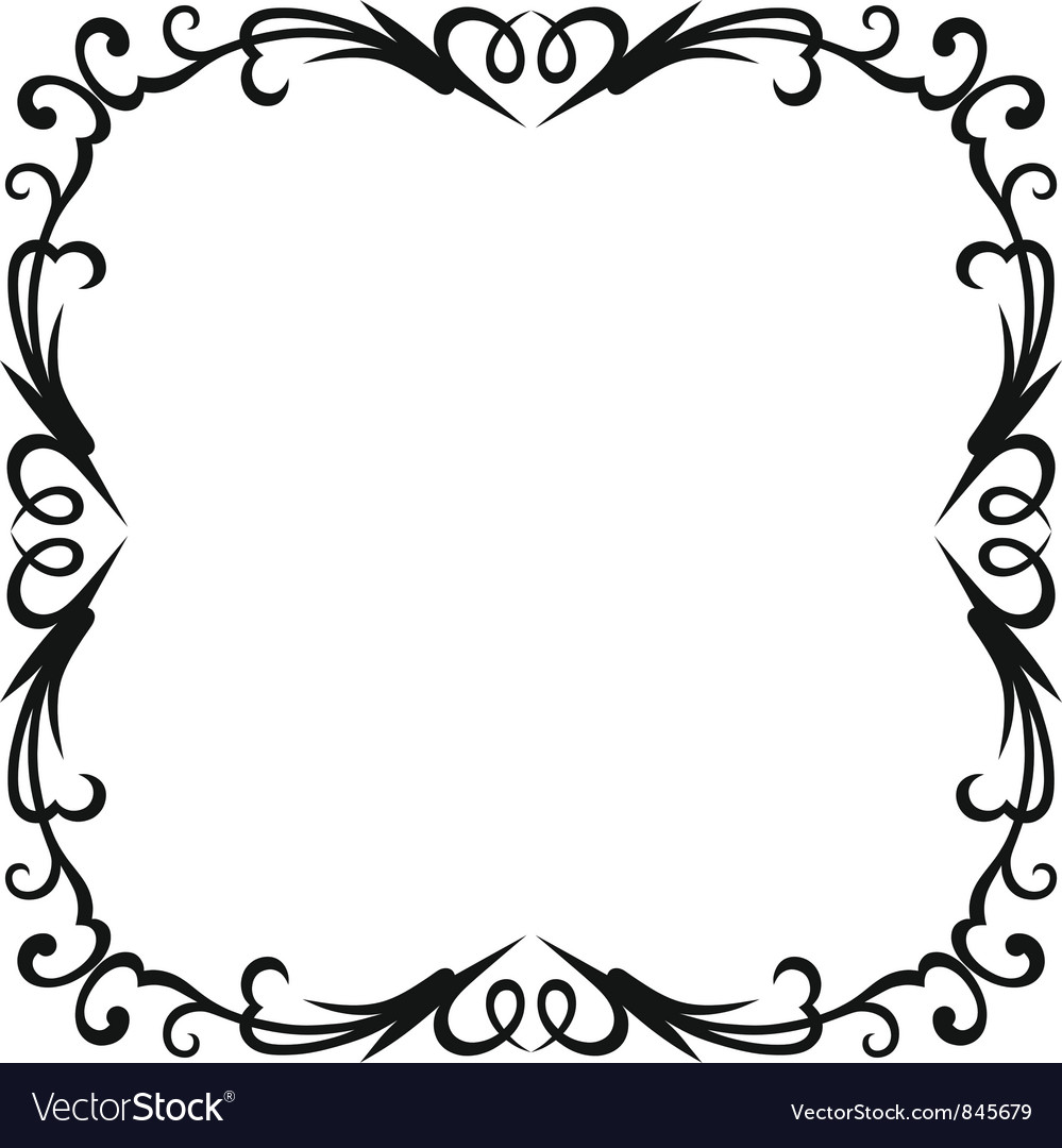 blank frames royalty free vector image vectorstock rh vectorstock com free vector flames free vector frames and borders