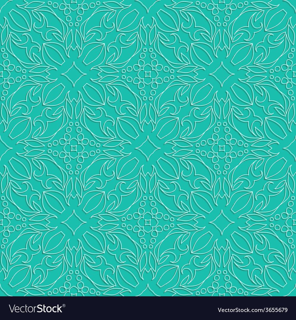 Embossed fabric seamless