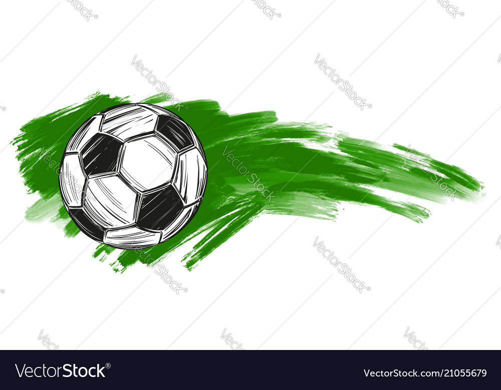 Football soccer ball russian flag sports game