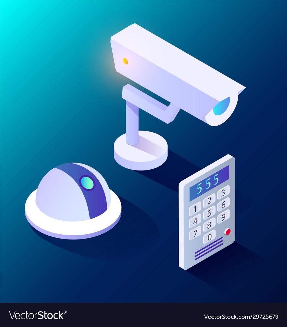 Smart home camera and intercom equipment