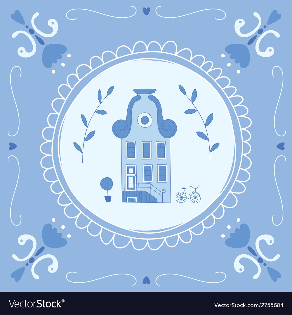 Delft blue home