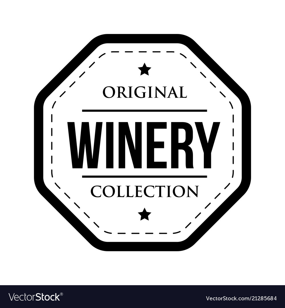 Winery logo vintage isolated label