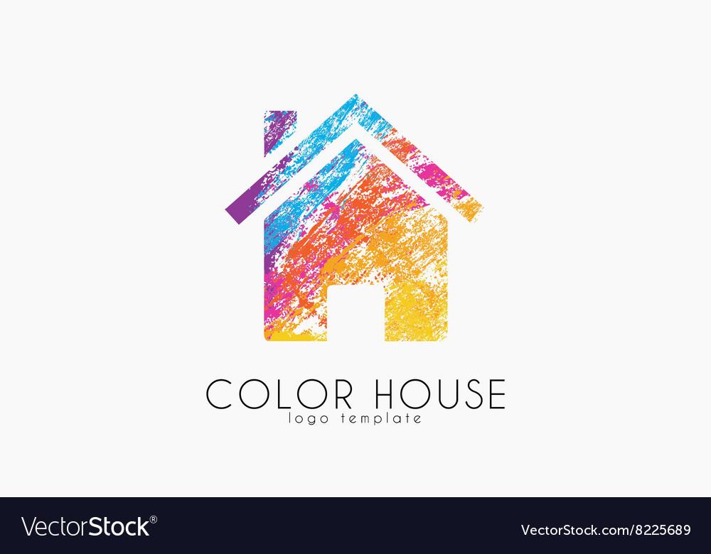 Creative House Logo Color House Design Home Logo