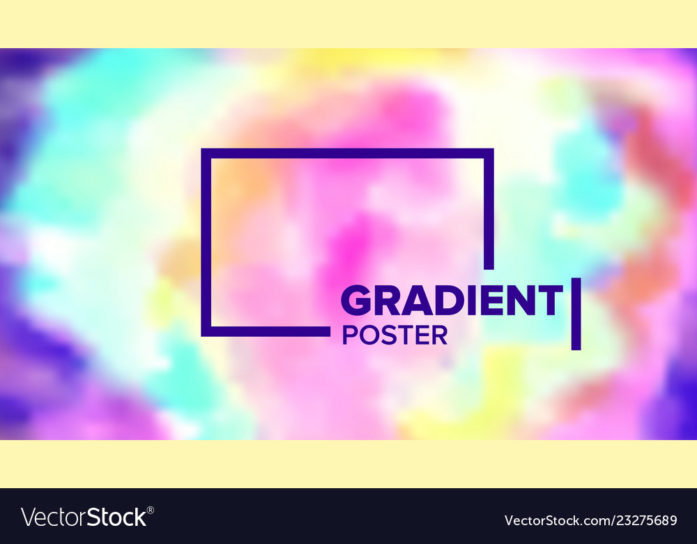 Gradient fluid background commercial cover