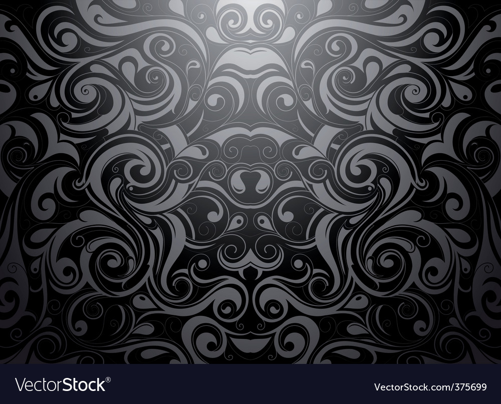 Tribal Wallpaper Vector Image