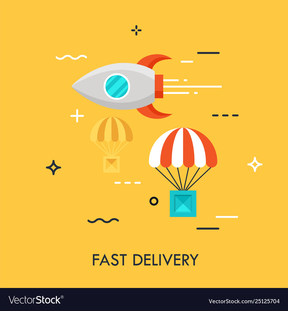 Fast delivery flat concept