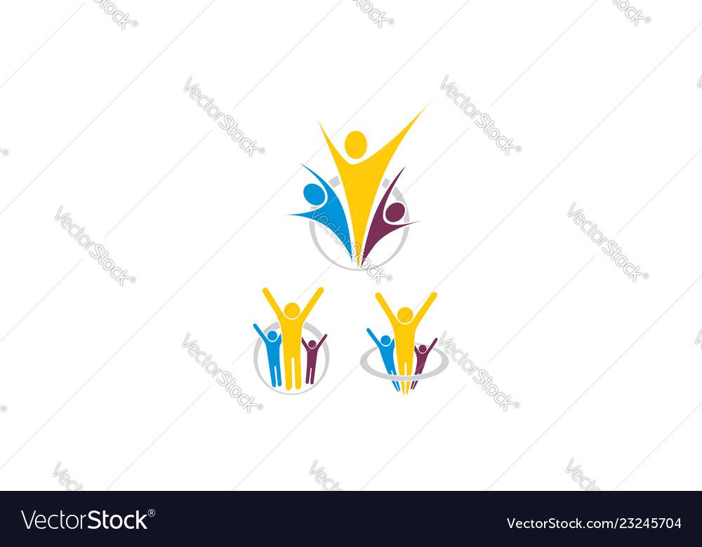 Health success icon logo
