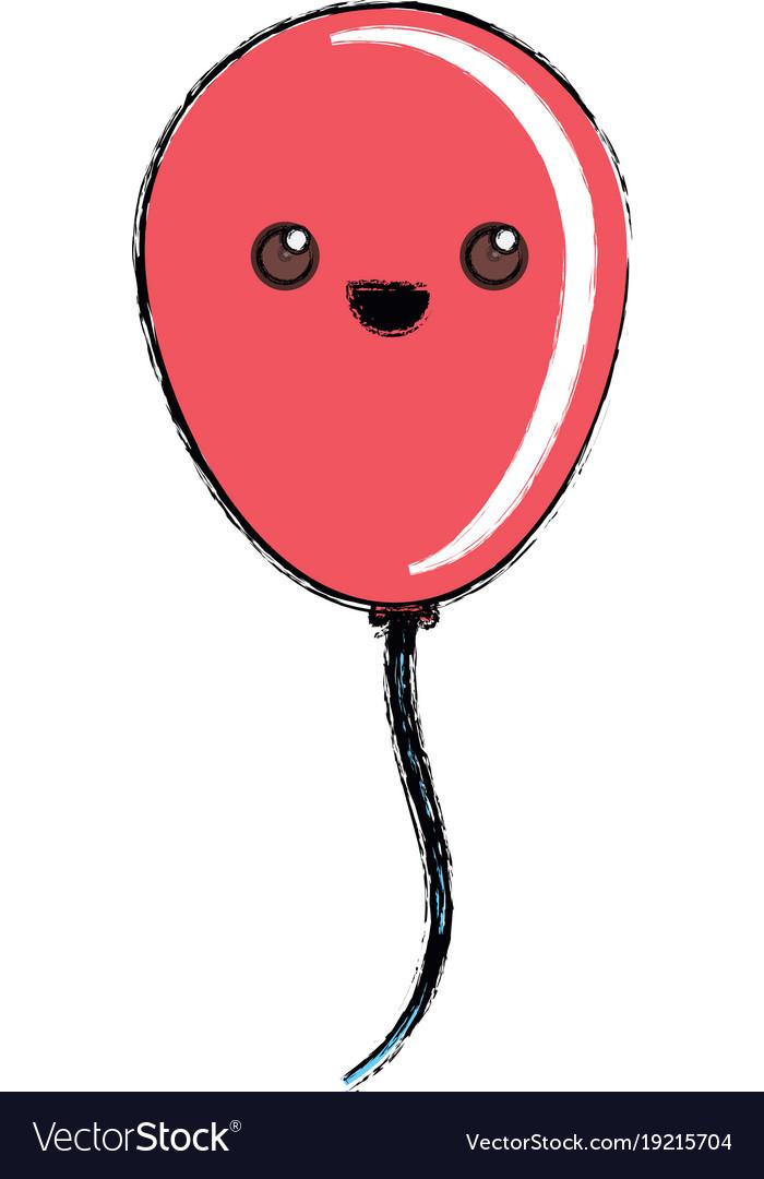 Kawaii balloon