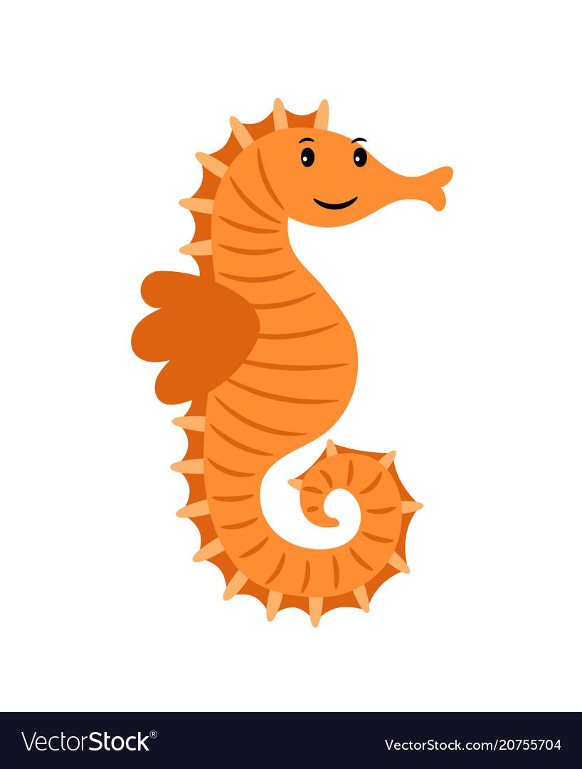 Sea horse marine animal