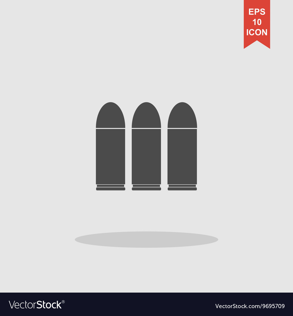 Bullet icon Flat design style vector image