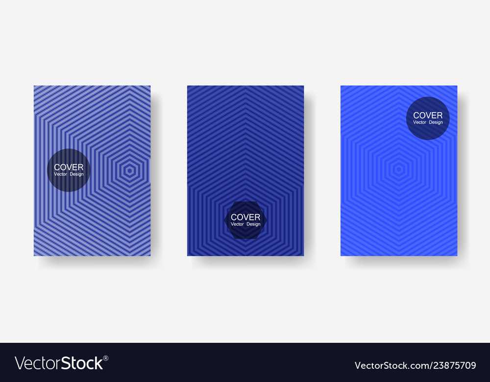 Geometric design templates for banners covers