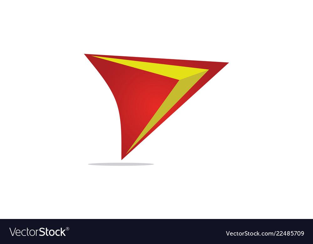 Gps triangle logo