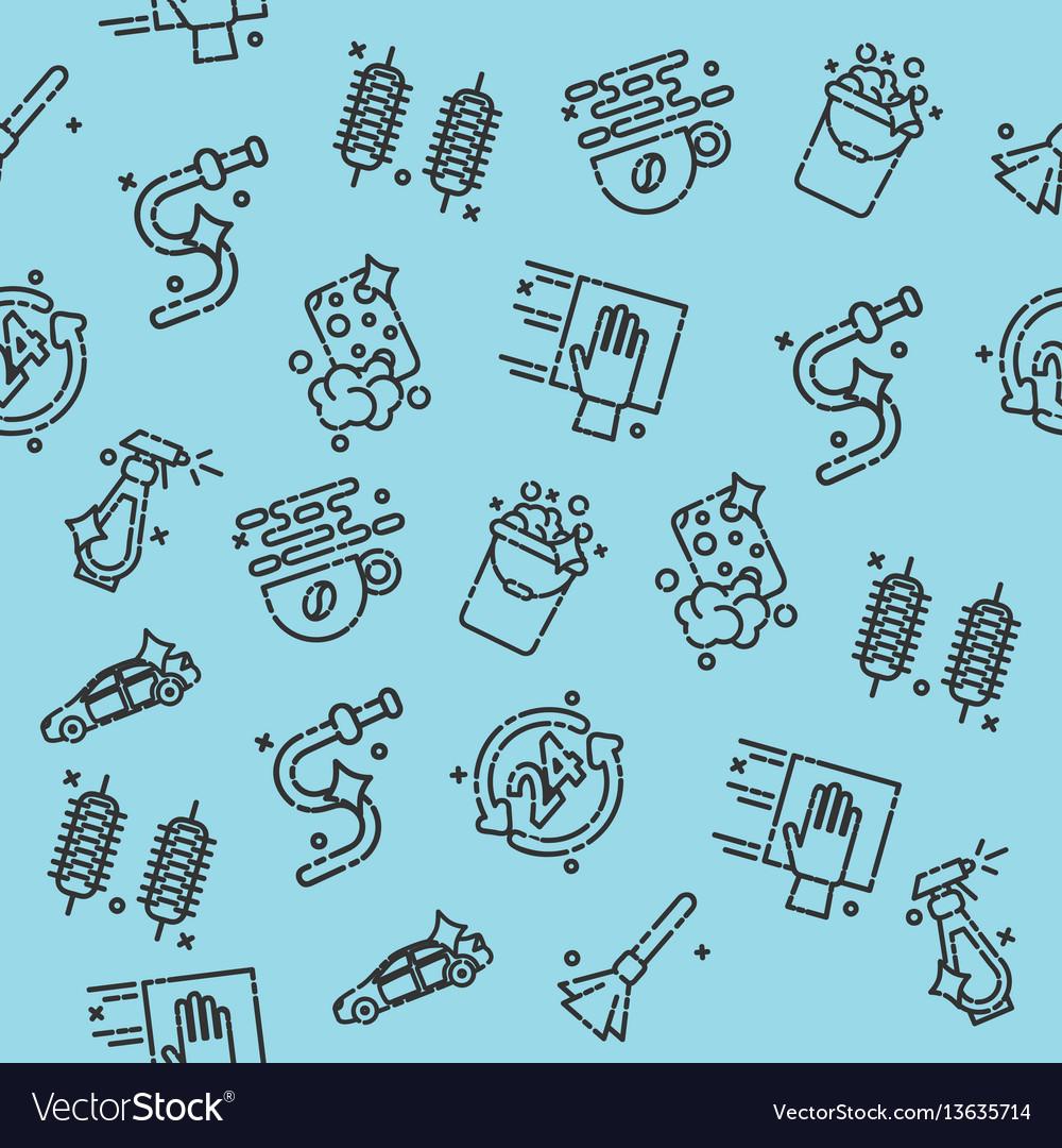 Car wash pattern