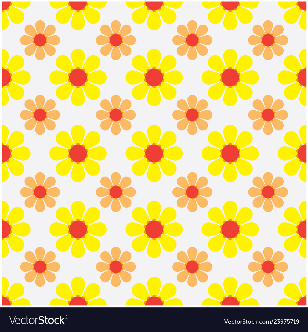 Seamless pattern with a flower background