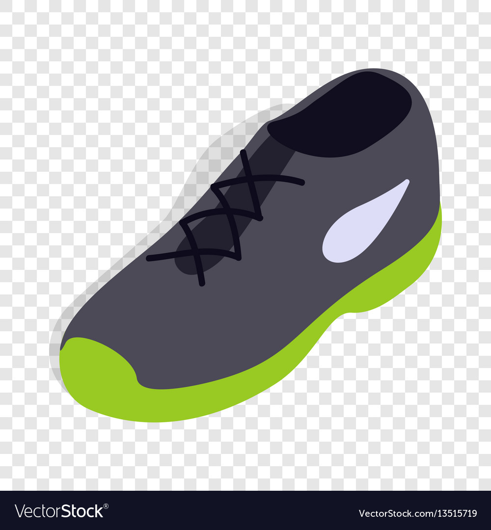 Tennis shoe isometric icon