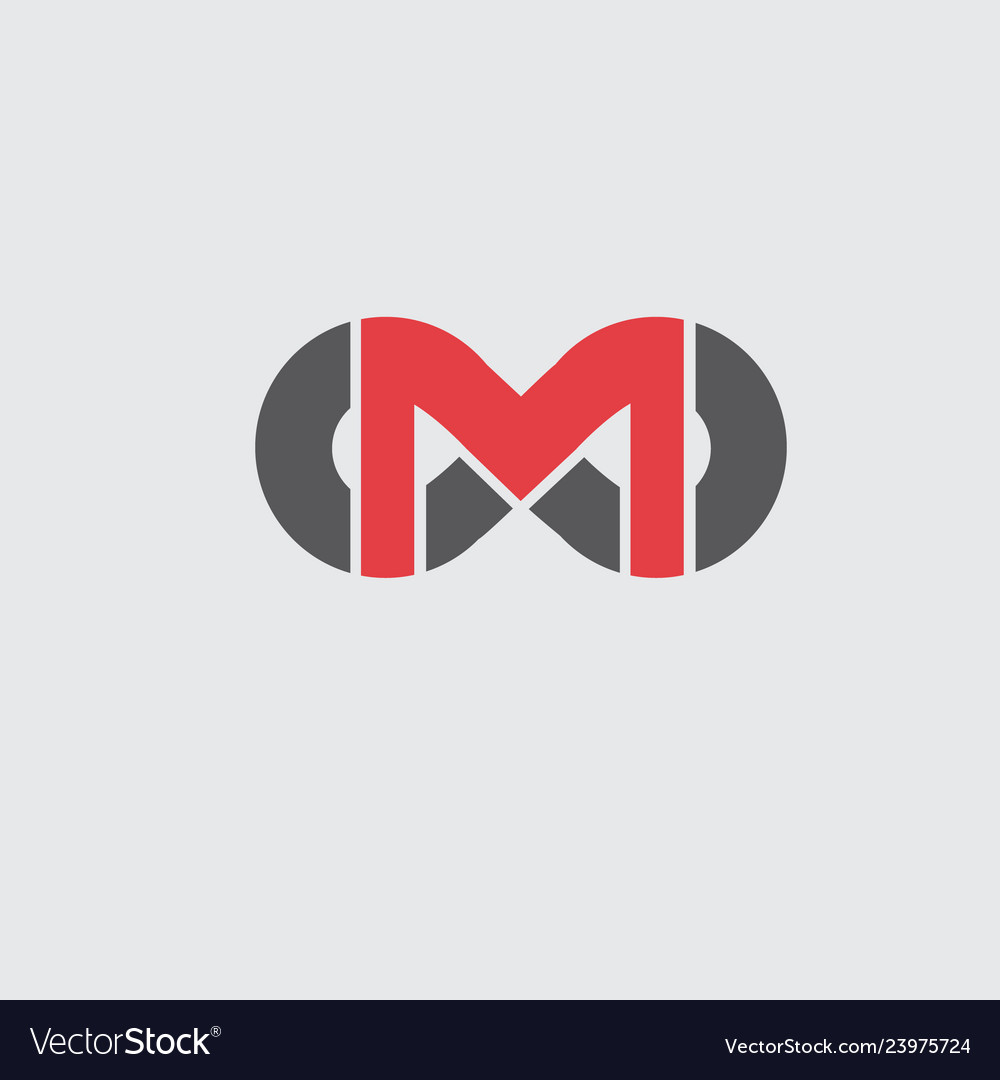 Company logo with the letter m