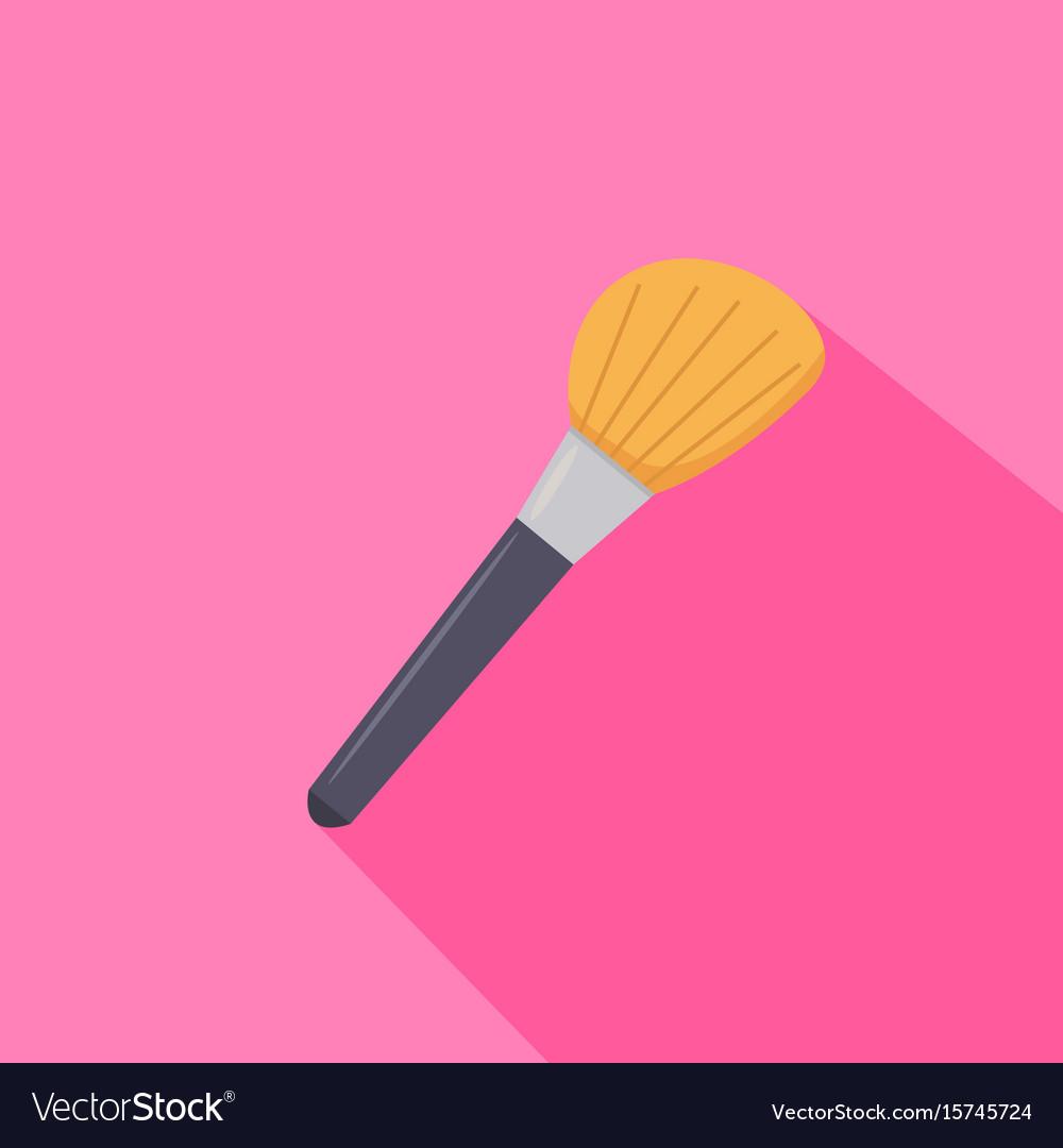 Make up brush from beauty salon