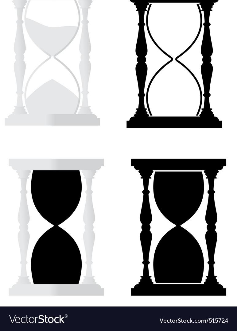 Set of hourglass