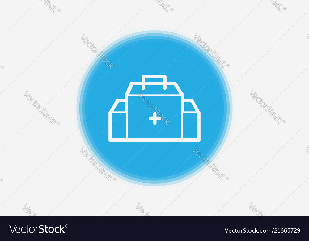 First Aid Kit Icon Sign Symbol Royalty Free Vector Image