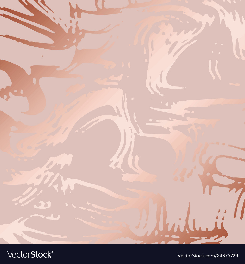 Texture of marble with imitation of rose gold