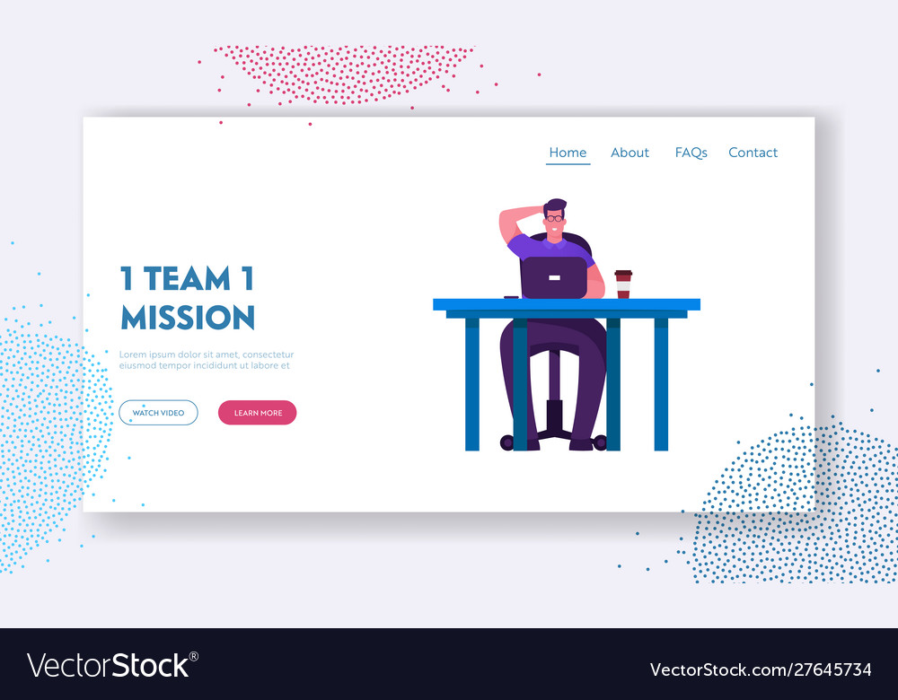 Brainstorm and searching solution website landing