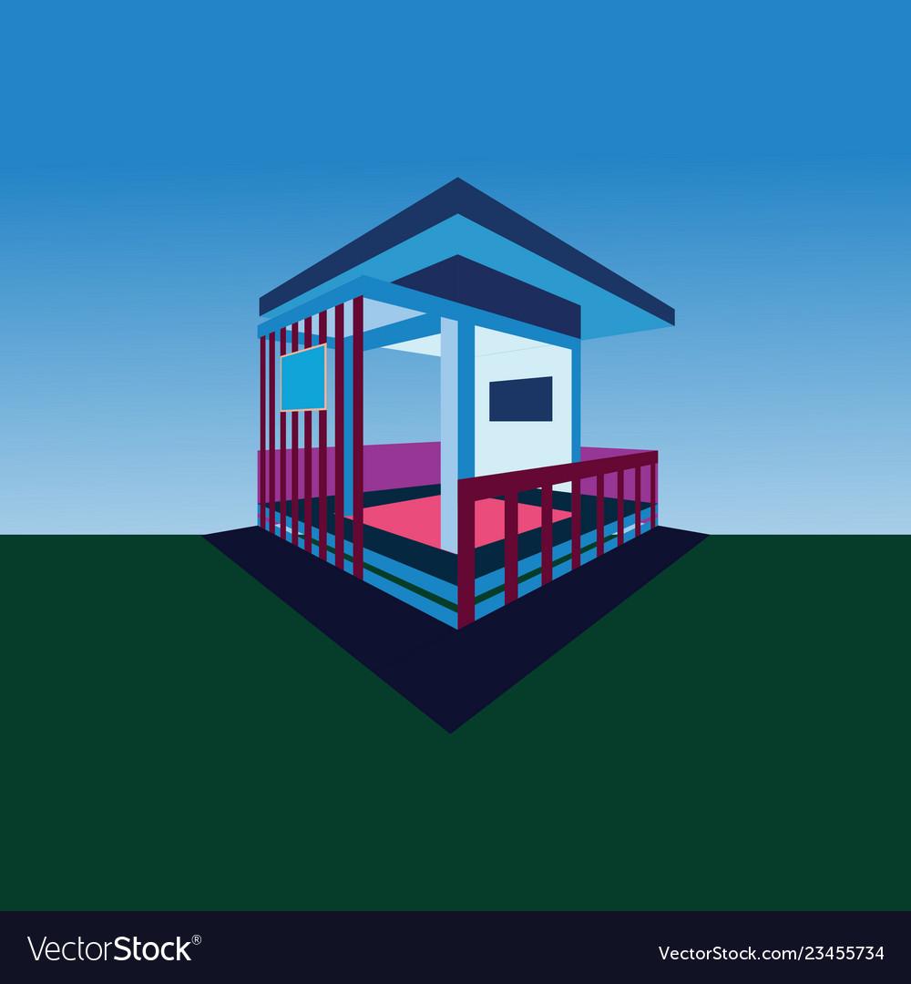 Isometric of building