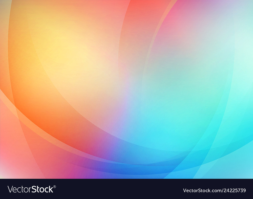 Abstract curved colorful background