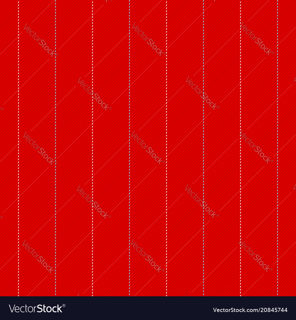 Red seamless fabric texture in line vector image