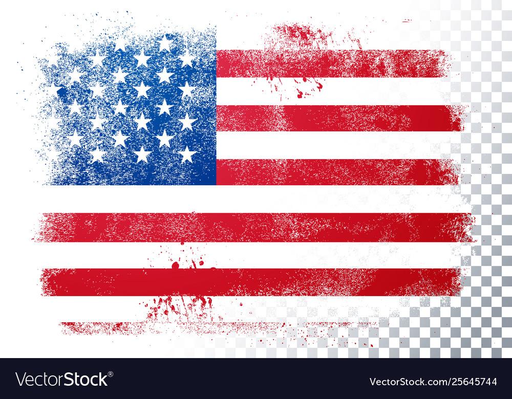 Vintage grunge texture flag usa