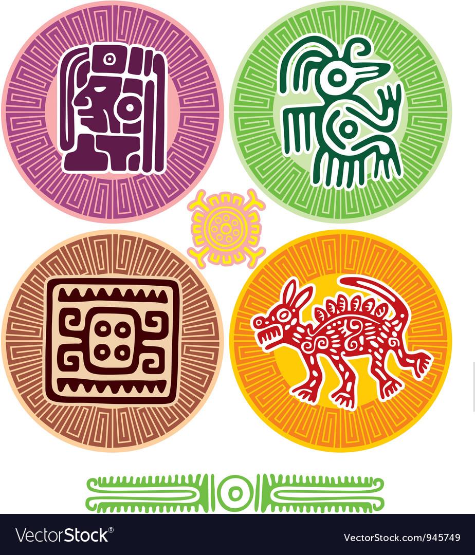 Set of Mexican Design Elements