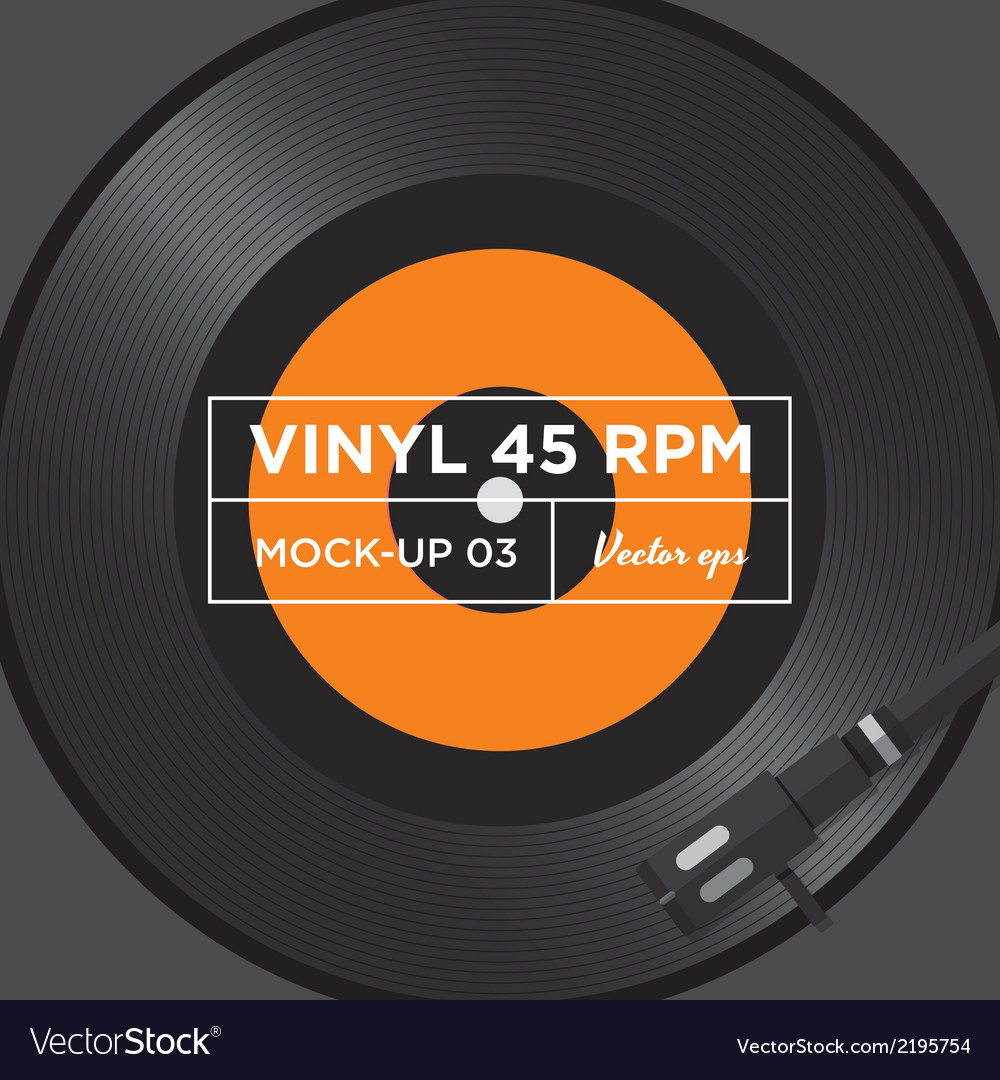 Vinyl 45 rpm mockup 03