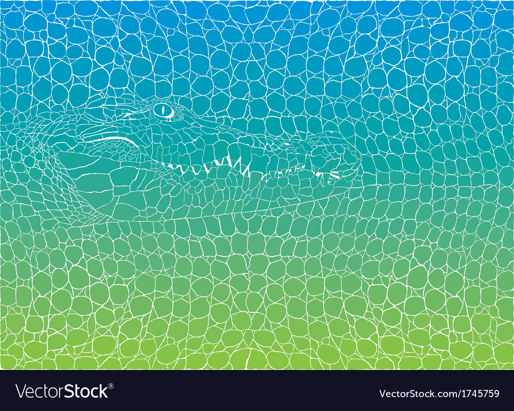 Crocodile abstract background