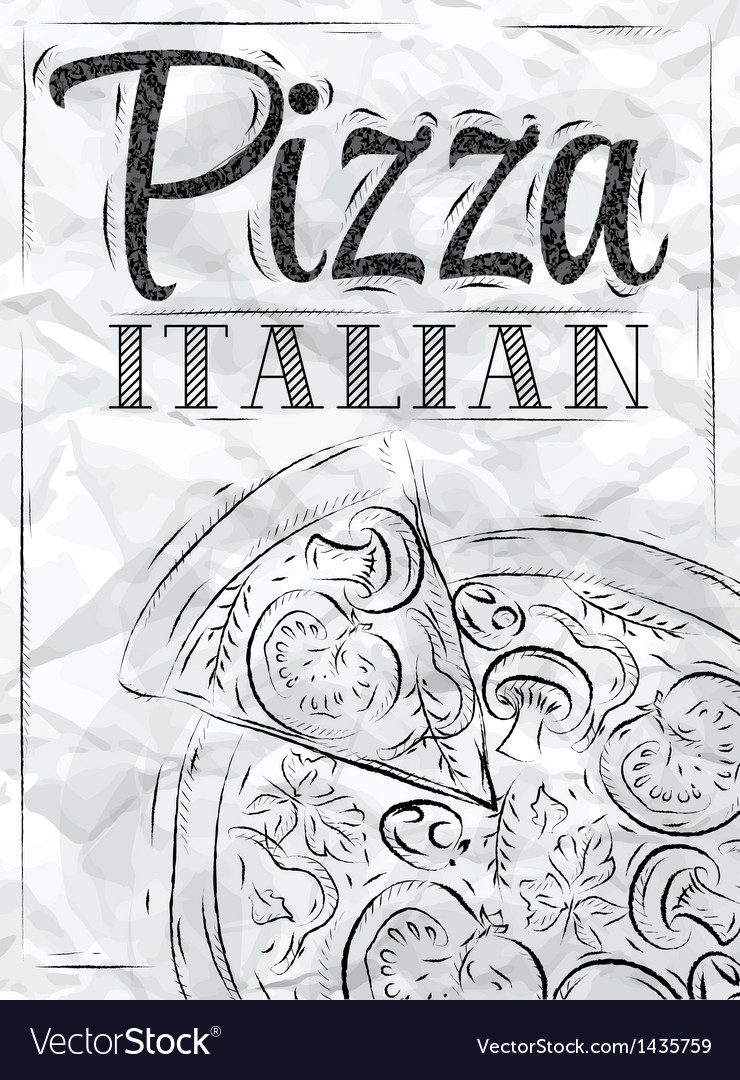 Poster Pizza Paper