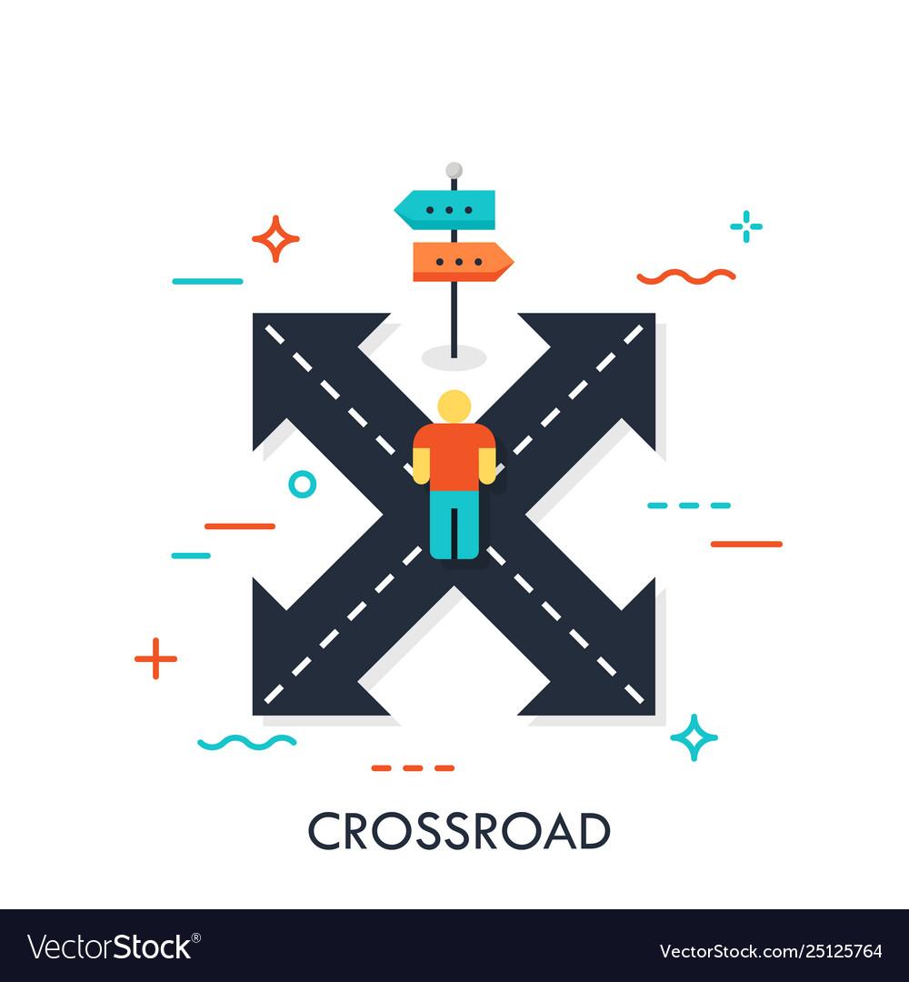 Crossroad flat concept