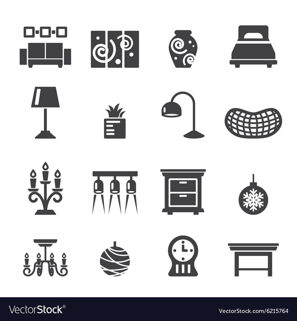 Vector Home Decor Icon