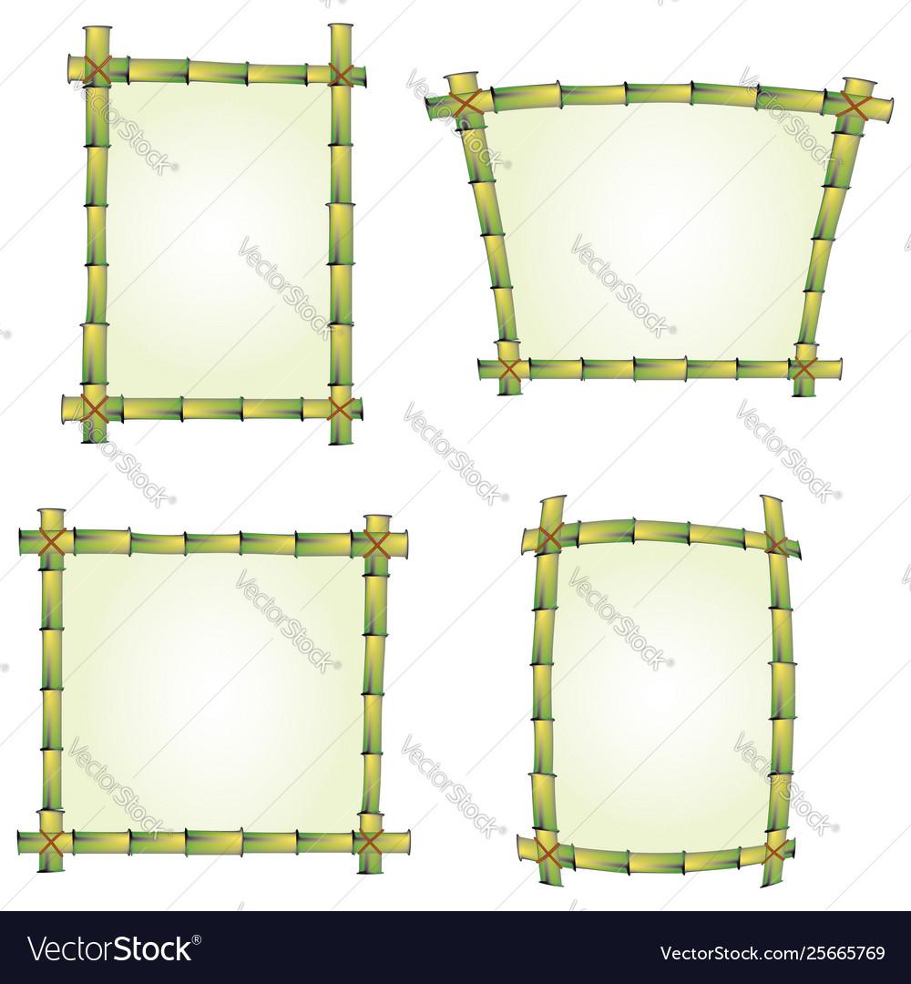Bamboo signs