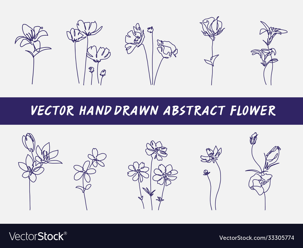 Abstract flower concept