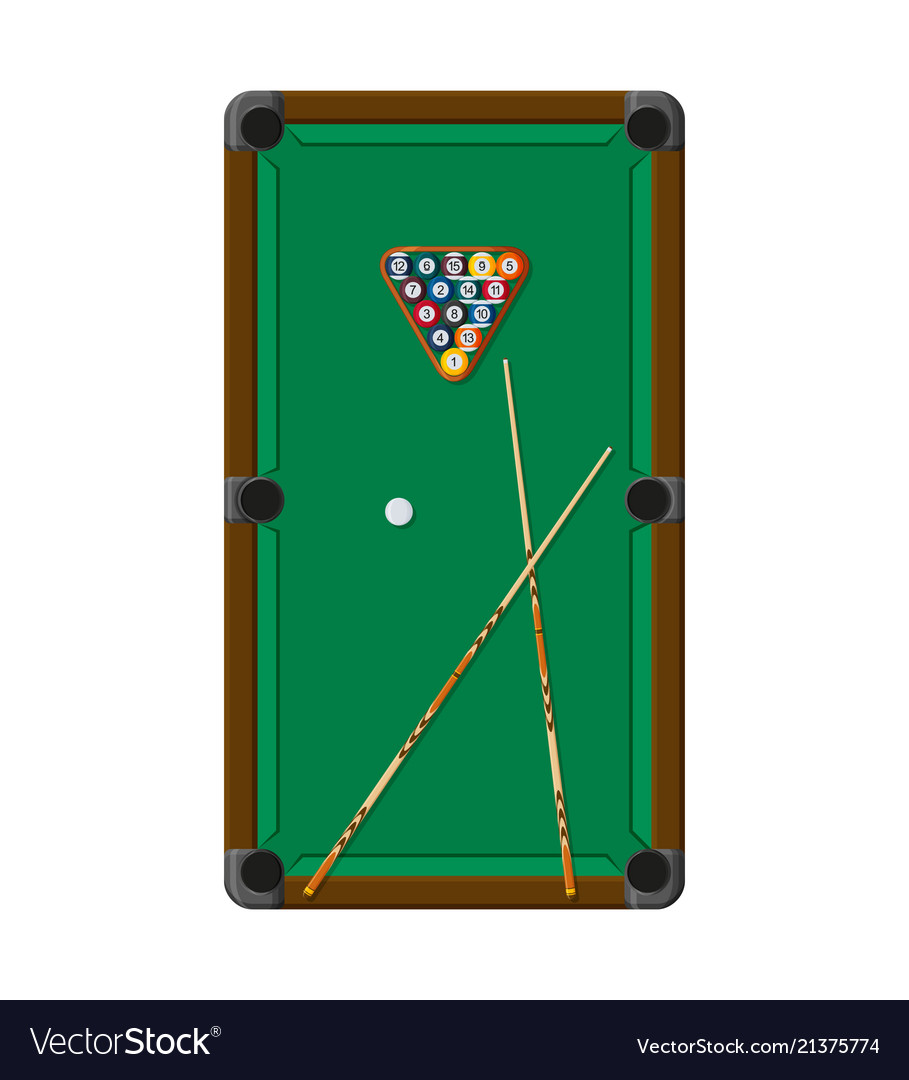 Billiard or snoker background good design