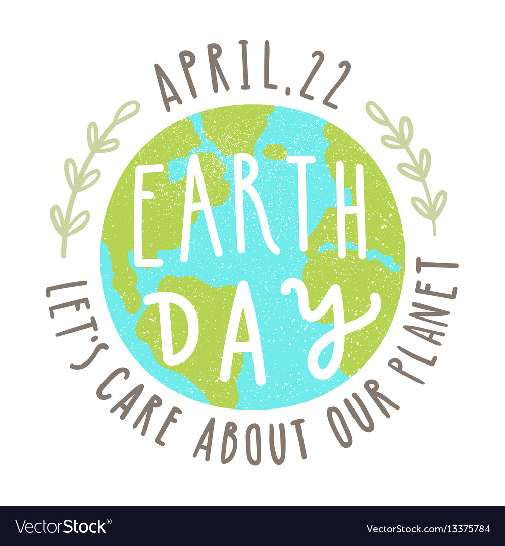 Earth day 22 of april