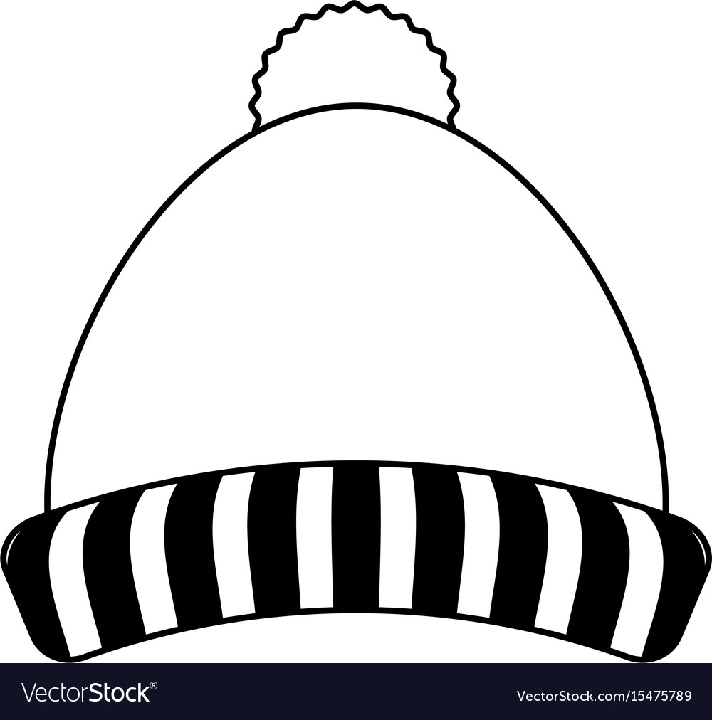 Knit winter hat icon image