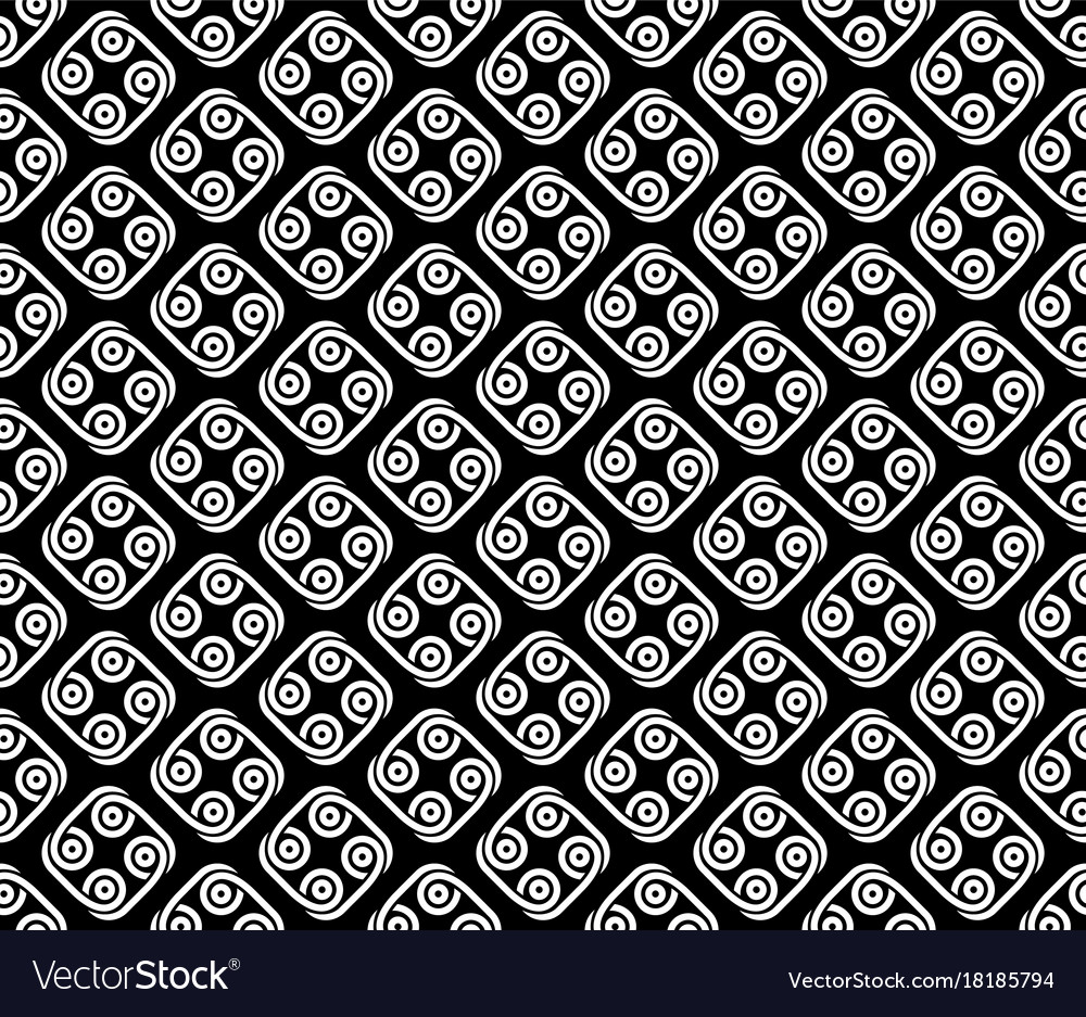 Abstract tribal style seamless pattern