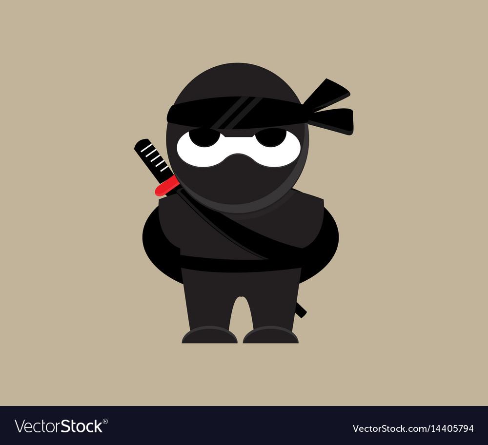 Cute ninja character